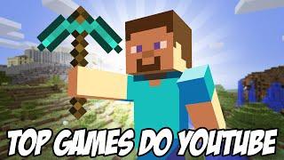 Top 20 jogos do Youtube, MINECRAFT DOMINA