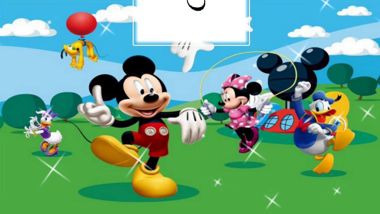 Convite Virtual Animado Mickey E Sua Turma 5 Fotos
