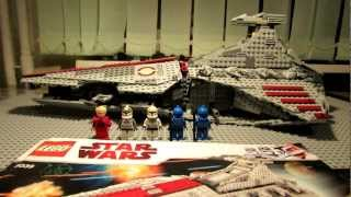 Lego Star Wars 8039 Venator-Class Republic Attack Cruiser Review