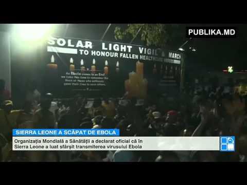 Sărbătoare naţională în Sierra Leone după un anunţ îmbucurător