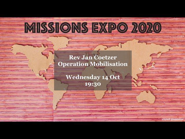 Rev Jan Coetzer - Operation Mobilisation (OM)