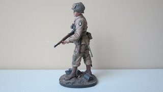 """Verlinden 120mm 101st Airborne Paratrooper """"Easy Company"""" Final Reveal (9.24.14)"""