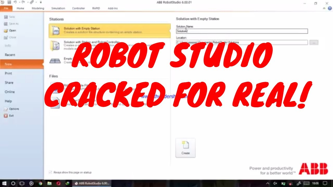 robotstudio 601 crack