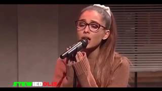 Ariana Grande Imitating Celebrities (Live on SNL 2016)