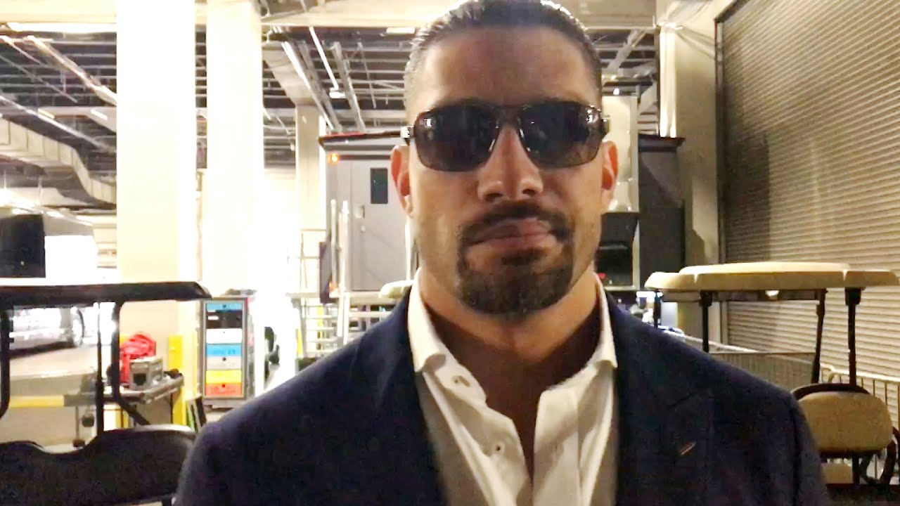 Roman Reigns arrives at WrestleMania completely focused on conquering The Beast
