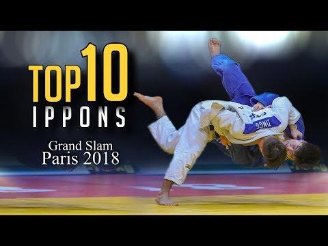 TOP 10 IPPONS | Grand Slam Paris 2018 柔道