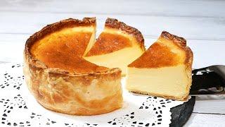 冷凍パイシートでバスチーパイ♪とろとろバスクチーズケーキパイBasque cheesecake pie puff pastry