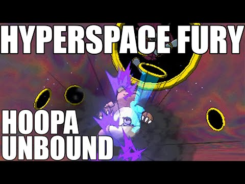 Hoopa Unbound's Signature Move - Hyperspace Fury! Hoopa Unbound Information!