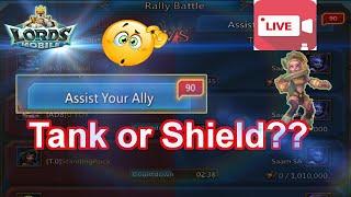 90 Rallies , tank or shield??? - 王國紀元 Lords Mobile