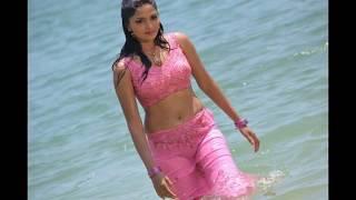 South Indian Hot Actress Wet Saree Hot and Sexy Video