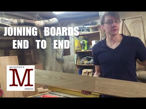 Joining Boards End To End 013 Youtube