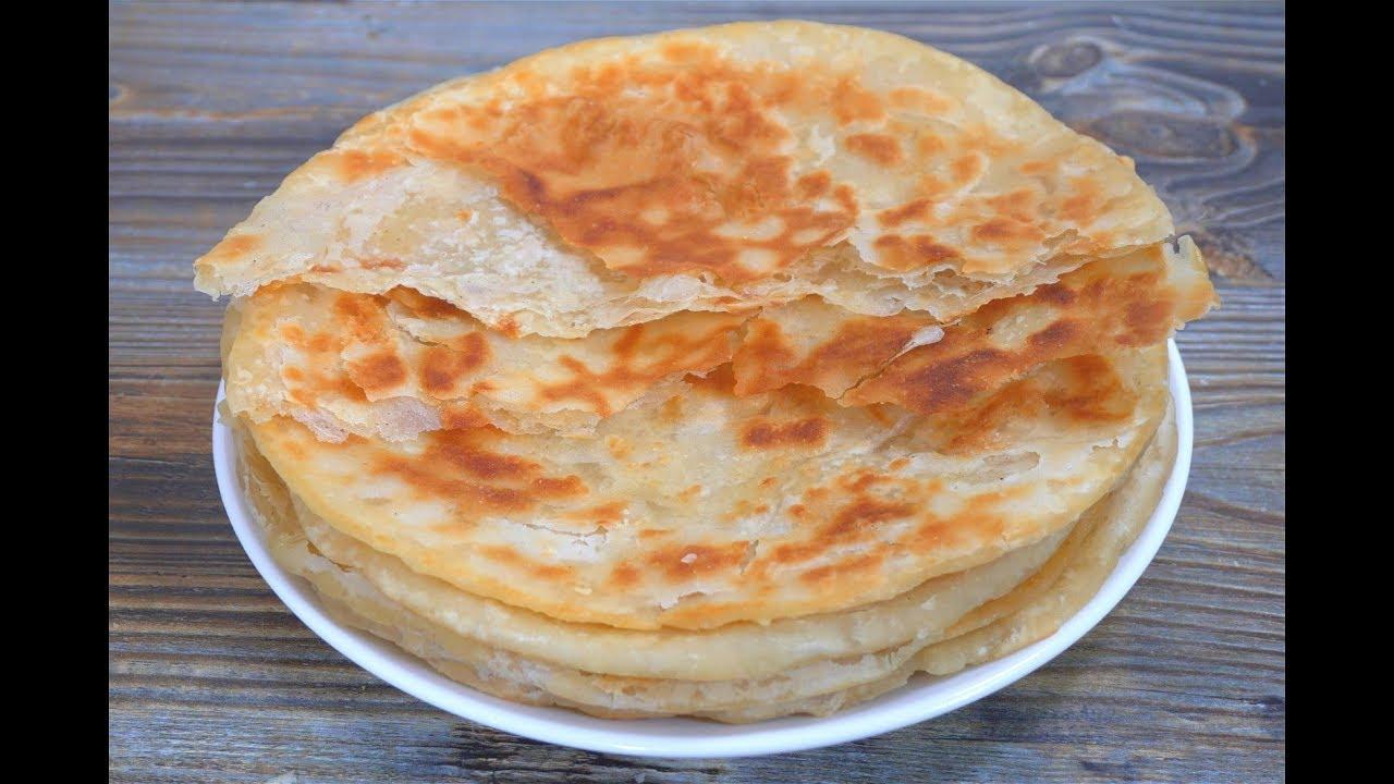 家常烙饼,这样做更好吃,2个关键点,表皮酥脆掉渣,简单易学