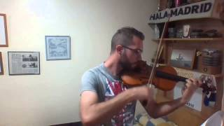 el senor de los anillos the lord of the rings violin daniel molina rodriguez