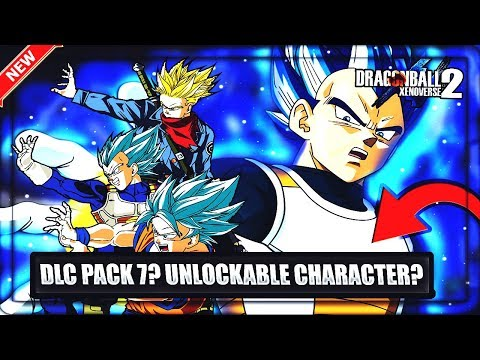 DLC PACK 7 - UNLOCK-ABLE CHARACTERS? • TOPPO, New Rage Trunks, VEGETA Super Saiyan Blue Evolution from YouTube · Duration:  2 minutes 41 seconds