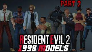 Resident Evil 2 Remake PC   1998 Models Project Mod BRAND NEW MOD Part 2