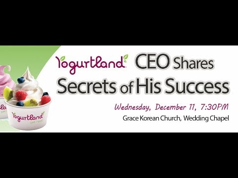 Philip Chang, CEO of Yogurtland at KPM Business Mission Night