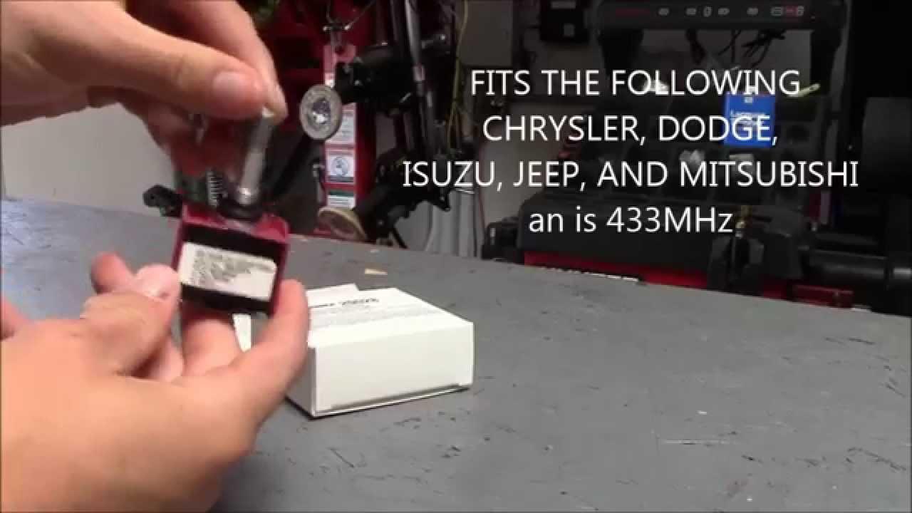 1-pack Schrader  20028 TPMS Sensor fits Chrysler Dodge Isuzu Jeep Mitsubishi
