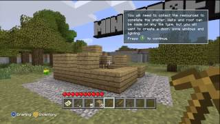 MineCraft: Xbox 360 Edition - Tutorial world