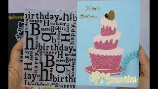 Intro Inloveartshop Birthday Theme Items Collection | Cardmaking Paper Crafts