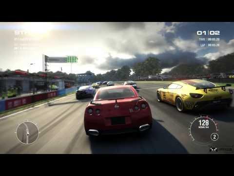 GRID 2 Gameplay [ PC HD ]