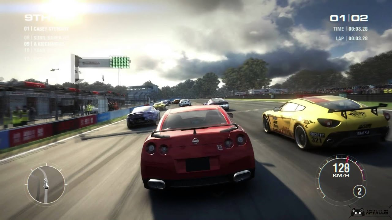 Grid  Car Racing Game