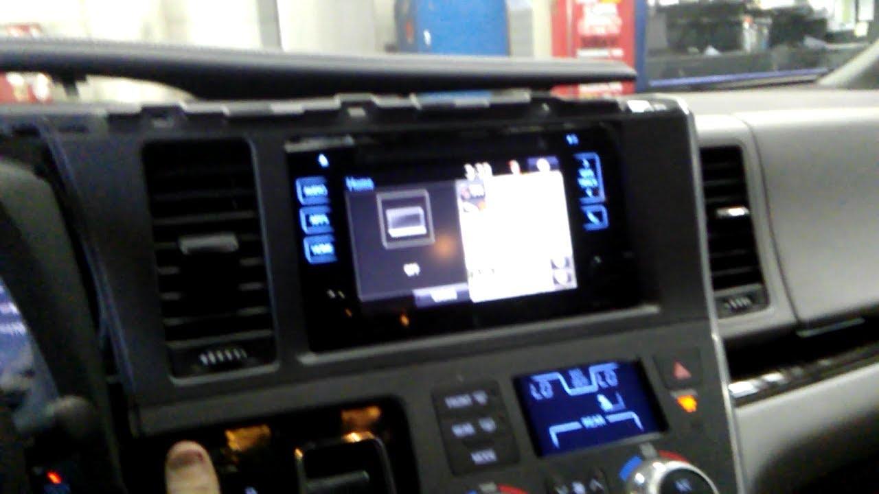 2017 Sienna Radio Removal Youtube 2004 Honda Odyssey Wiring Diagram