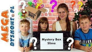 Mystery Box Slime • Wielki Karton z Niespodziankami !!! • openbox i kreatywne zabawy