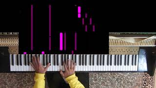Thank U Next, Ariana Grande (Synthesia Piano Tutorial)