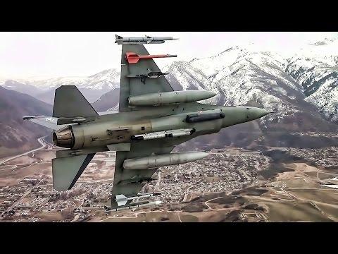 F-16 Formation Flight  • Cockpit View + Pilot Comms