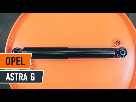 Opel astra g hátsó féktárcsa cseréje