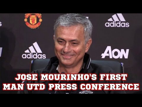 Jose Mourinho's First Manchester United Press Conference
