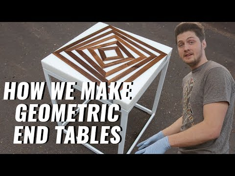 How to Build an Epoxy End Table Step-By-Step Process