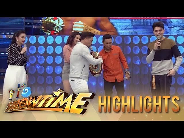 "It's Showtime: Jhong challenges Donnie ""Ahas"" Nietes to fight with him"