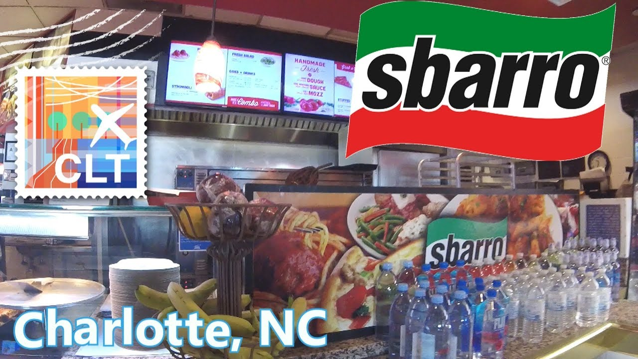 Sbarro Pizza Charlotte Airport Food Review