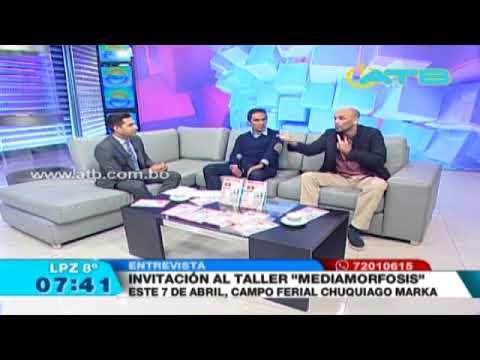 Entrevista a Carlos Cortés en ATB Noticias, especialista y consultor en marketing digital