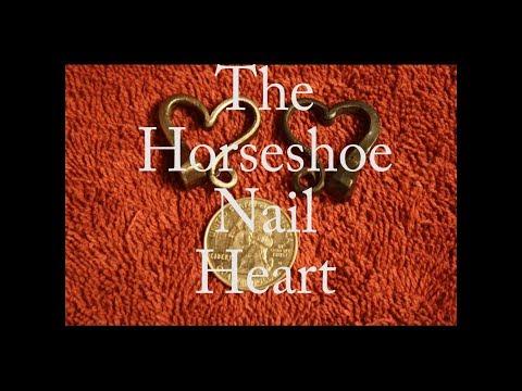 The Horseshoe Nail Heart