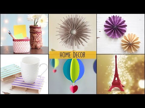 6 Home Decor Ideas You Can Easily DIY | DIY Room Decor