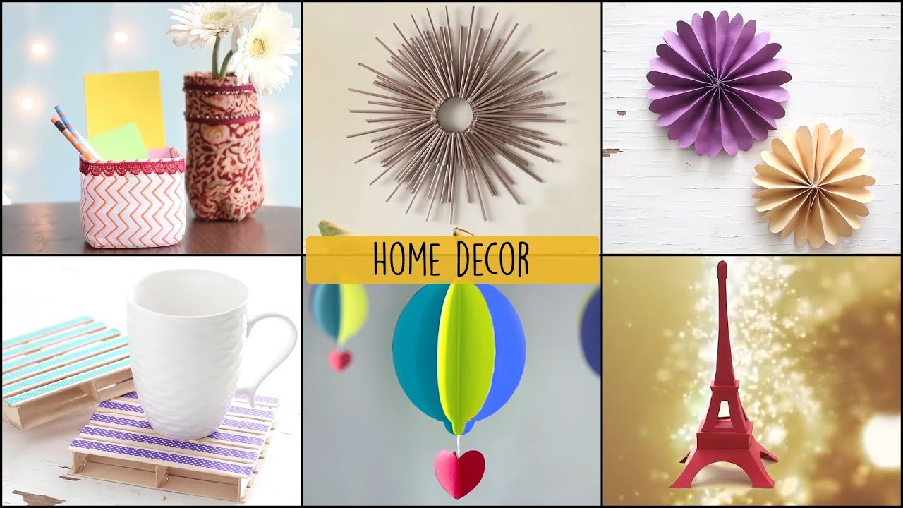 6 Home Decor Ideas You Can Easily DIY