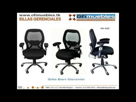 Sillas Ergonomicas Para Oficina Peru.Sillas Ergonomicas Para Oficina Pbx 8057097 Bogota Youtube