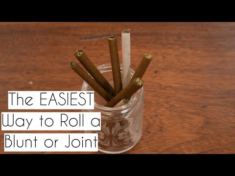 How to Roll a Hemp Wrap or Joint w/ a Rolling Machine (Easy)
