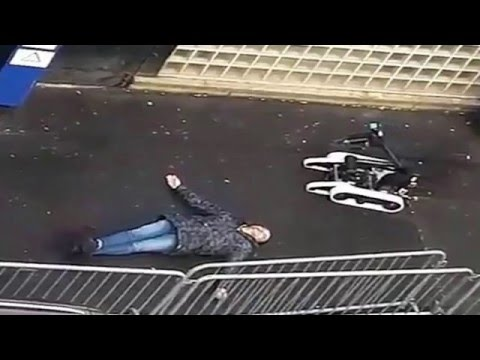 Shooting outside of Paris police station France shooting North Paris Barbes motive explained revised