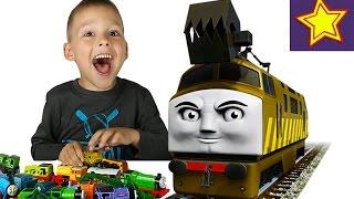 Паровозики Томас і його друзі розпакування Дизеля 10 Thomas & Friends Diesel 10 unboxing