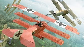 THE RED BARON Manfred Von Richthofen in Acction