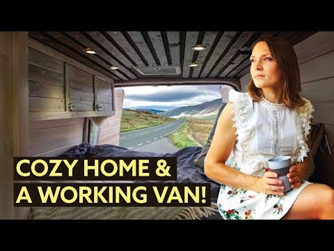 How this ARTIST created a CHIC but practical VAN CONVERSION