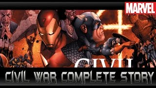 [Civil War Complete Story]comic world daily
