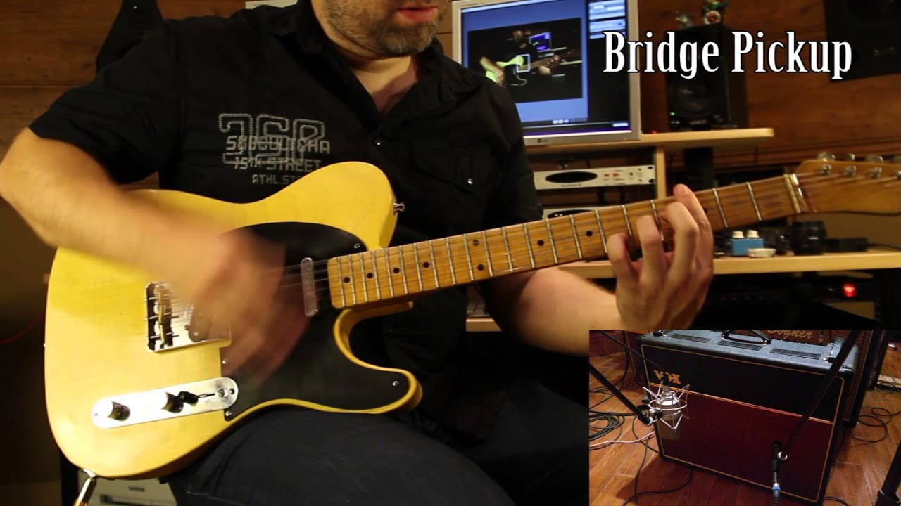 fender telecaster vs gibson sg with loop control youtube for