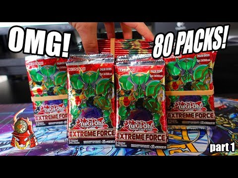 Yu-Gi-Oh! BEST! 80 PACKS OF EXTREME FORCE SNEAK PEEK OPENING! NEW CARDS + SUPPORT! PART 1 2018!