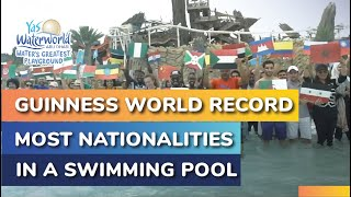 Yas Waterworld | Guinness World Record | Most Nationalities in a Swimming Pool