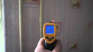 видео инфракрасный термометр кельвин