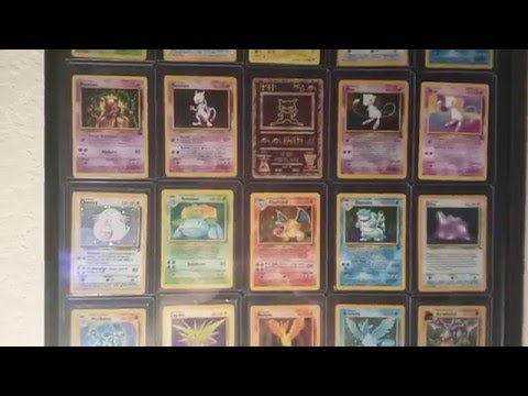 Framing Extremely Rare Pokemon Cards! - Framing Card Project